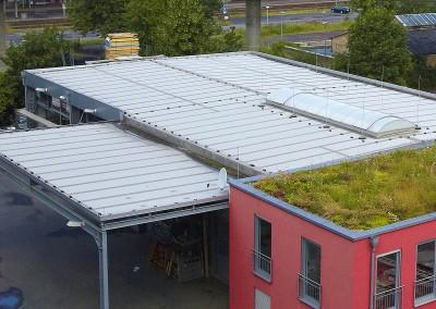 Dach Vor Aufbau der Solaranlage