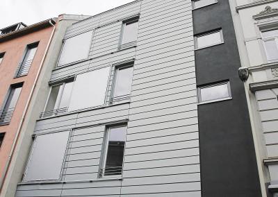 Fassade Mehrfamilienhaus in Bonn