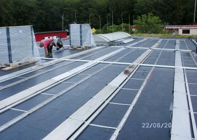Unterkonstruktion Solarpaneele